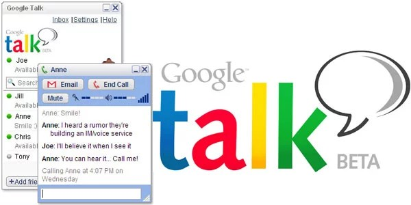 Google Talk Down - Worldwide users experiencing brief outage