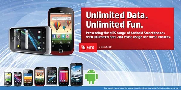 MTS launches MTag 351, MTag 352 & MTag 281 Android smartphones bundled with Unlimited Data plans