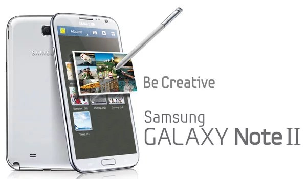 Samsung unveils the Galaxy Note II at IFA 2012 Event