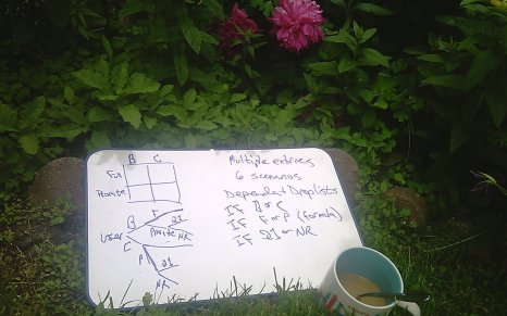 Excel tip: get a whiteboard and go outside