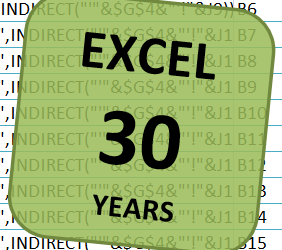 30 Years of Excel