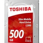 Toshiba 2.5″ Slimline HDD mit 7mm Bauhöhe