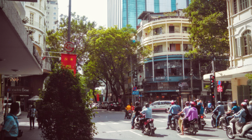 Downtown Ho Chi Minh City