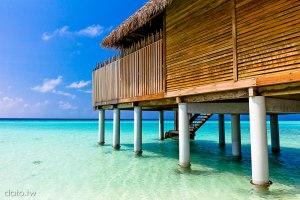 [馬爾地夫05]Water Villa、Beach Villa