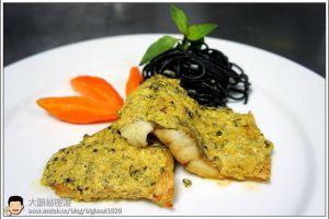 [西餐]魚類 香煎鱸魚佐荷蘭汁