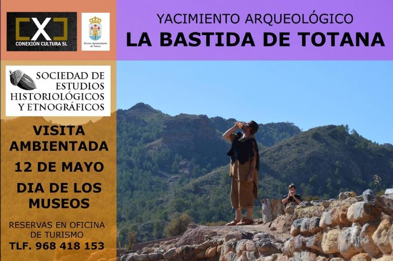 La Concejalía de Turismo organiza una visita ambientada al yacimiento de La Bastida el próximo sábado 12 de mayo con motivo del Día Internacional de los Museos