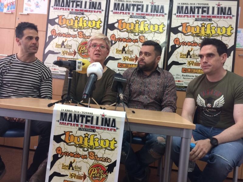 """Vídeo. El I """"Mantellina Festival"""" se celebra en el auditorio del parque municipal """"Marcos Ortiz"""" el próximo 14 de abril, con la actuación de cinco grupos musicales"""