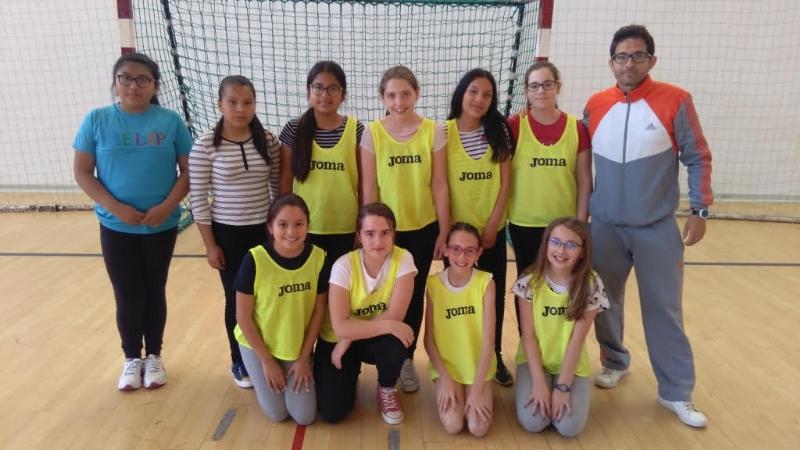 La Concejalía de Deportes pone fin a la Fase Local de Balonmano Alevín de Deporte Escolar, donde los colegios Santa Eulalia y La Cruz quedan campeones en las modalidades mixta y femenina