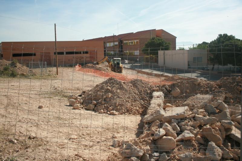 El nuevo parque del barrio San José estará a pleno rendimiento a partir del próximo mes de agosto, y contará con una superficie de 750 metros cuadrados, de los que 150 corresponden al área de juegos infantiles