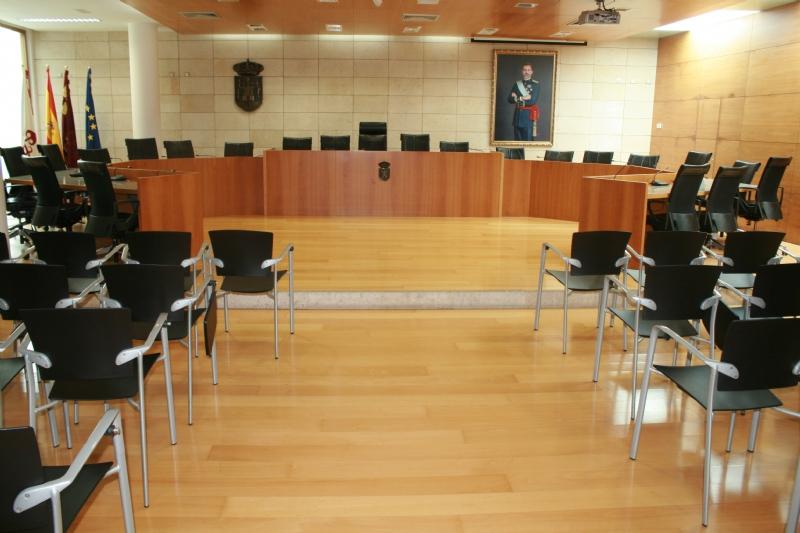 Orden del día, por áreas de gestión municipal, de la última sesión ordinaria de la Junta Local de Gobierno del Ayuntamiento de Totana, celebrada el pasado jueves 24 de mayo