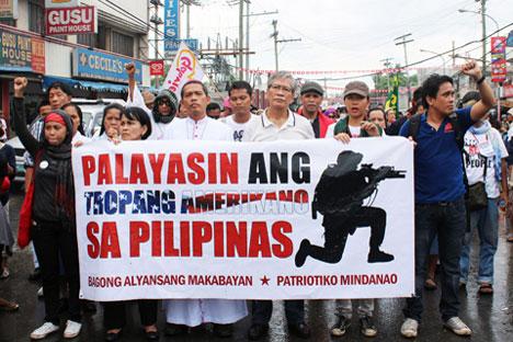 Zamboanga protest vs Balikatan troops shows mounting anti-US sentiment