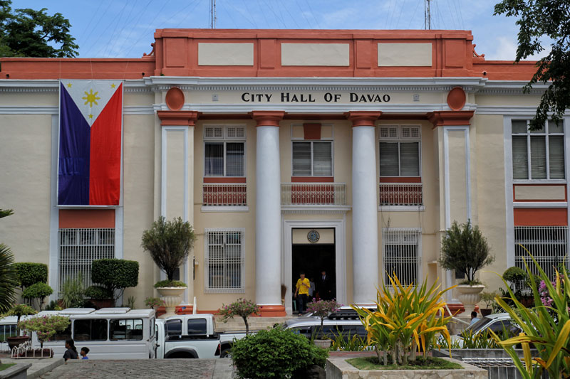 The Davao City Hall.  (davaotoday.com photo by Ace R. Morandante)