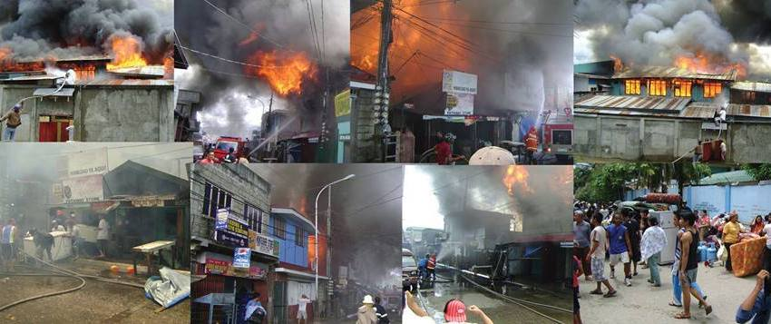 """Evacuees to Aquino: """"Our houses burned down"""""""