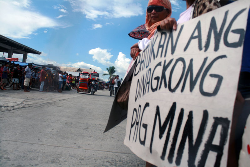 Farmers want San Miguel mining out of Compostela