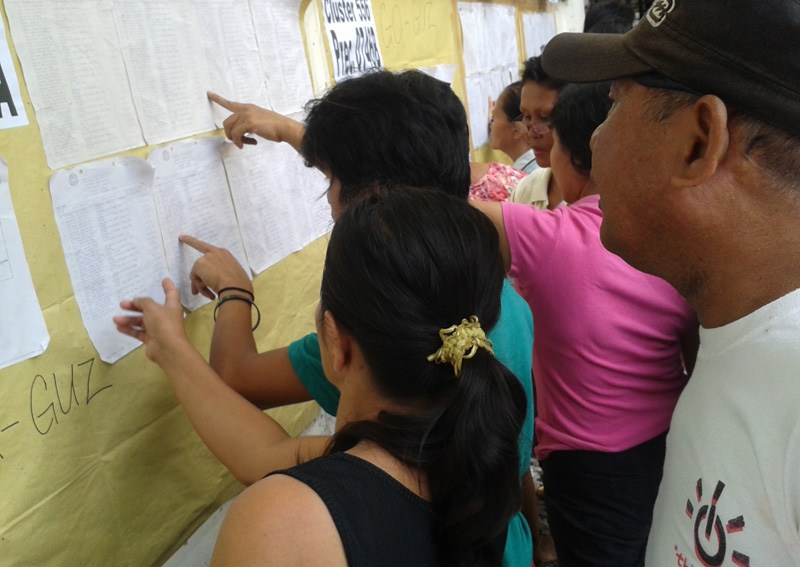 Missing names mar 'orderly' conduct of election in Davao