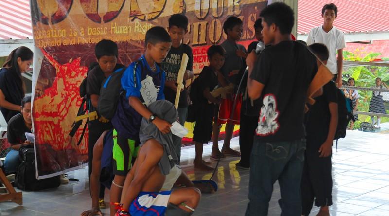 Army presence halted Lumad school classes