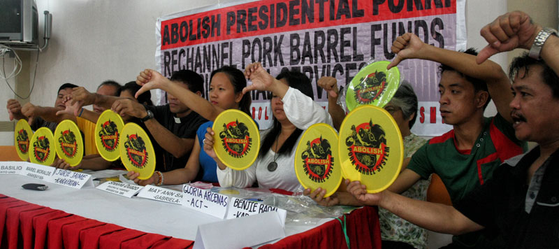 Groups renew call to channel pork barrel to social services