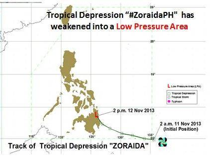 Courtesy of PAGASA DOST Facebook page