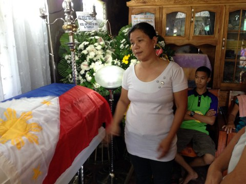 Teresa Butalid, widow of Rogelio Butalid. (davaotoday.com photo by Mart D. Sambalud)