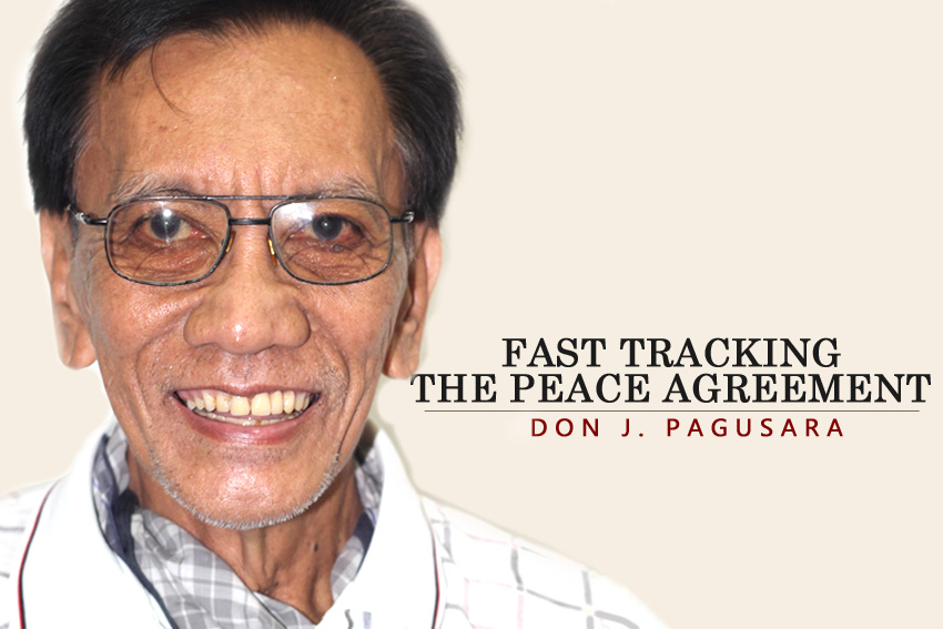 Fast Tracking the Peace Agreement