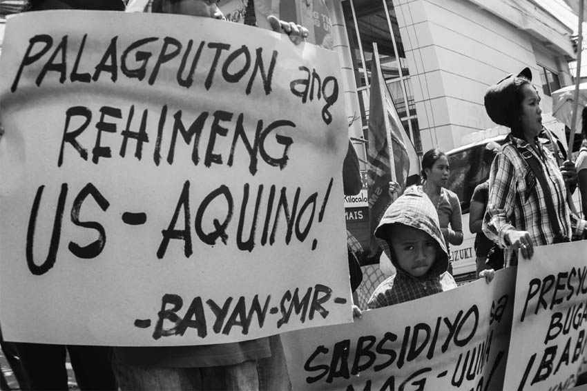 Activists set series of protests for PNoy's SONA