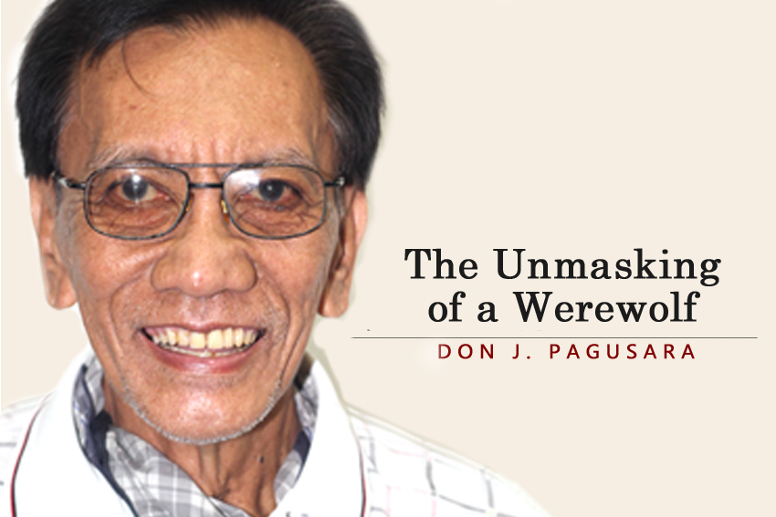 The Unmasking of a Werewolf