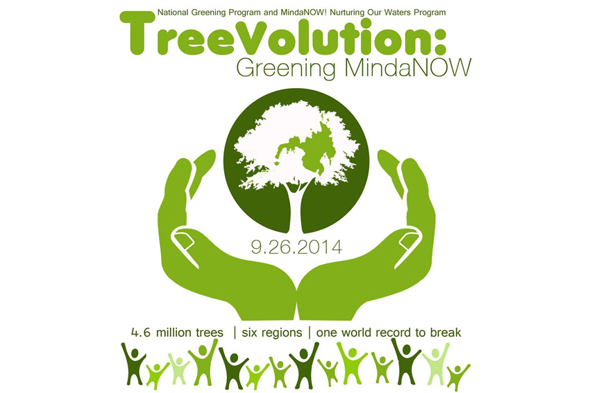 Mindanao eyes world record in TreeVolution event