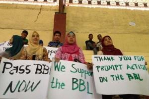 SUPPORT BANGSAMORO LAW