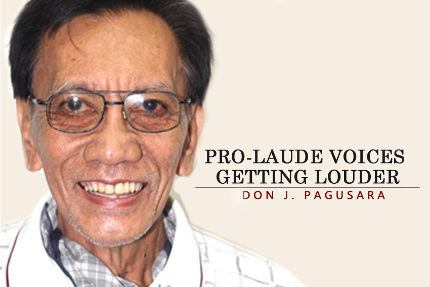 PRO-LAUDE VOICES GETTING LOUDER