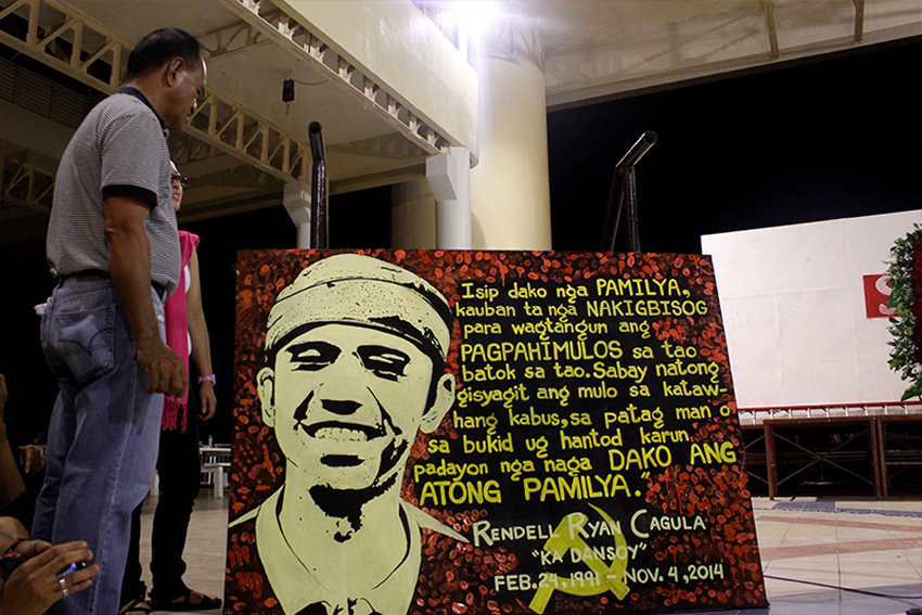 UP Mindanao honors student leader with tribute