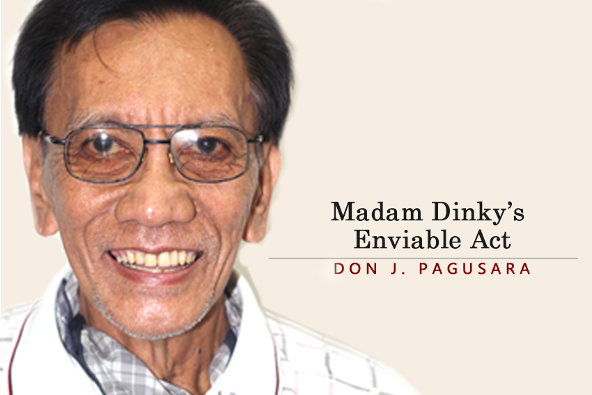 ​​​Madam Dinky's  Enviable Act