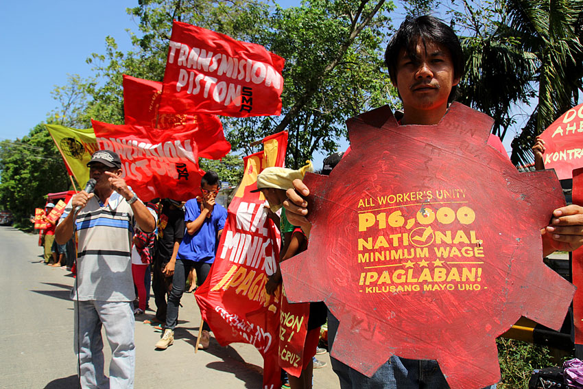 Blood spills, harassment against workers continue in Duterte admin