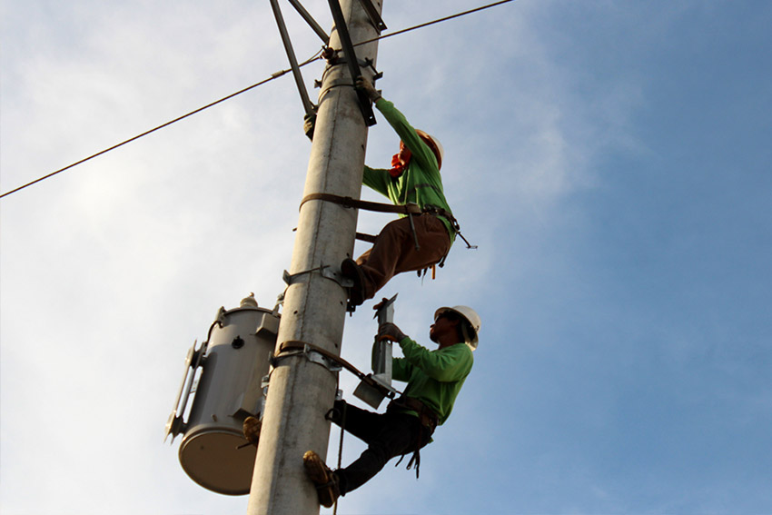 Power interruptions back after polls