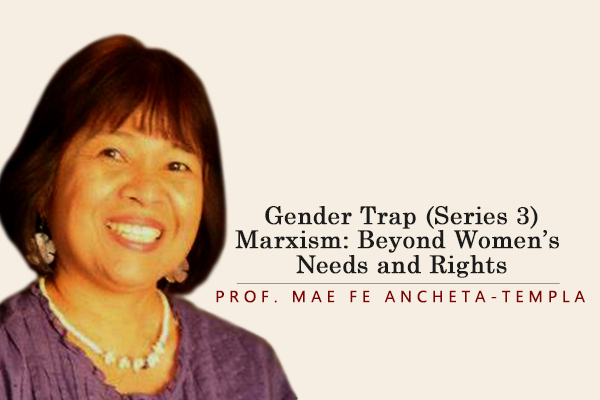Gender Trap (Series 3) Marxism: Beyond Women's Needs and Rights