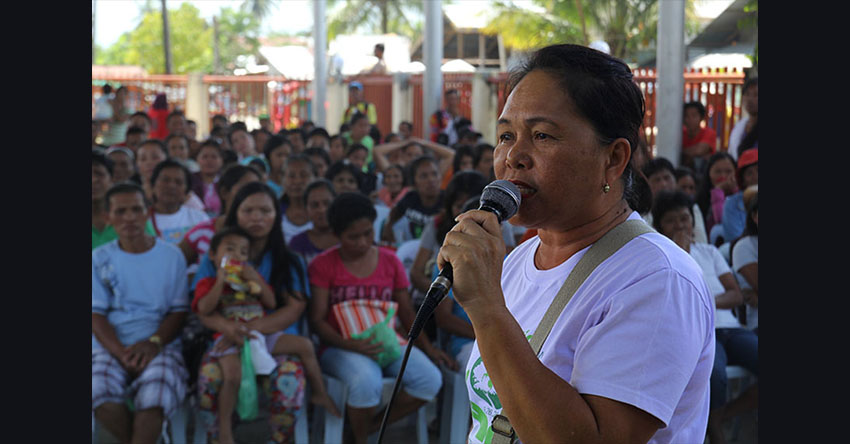 ComVal 'Pablo' victims ask LGU to probe housing project defects