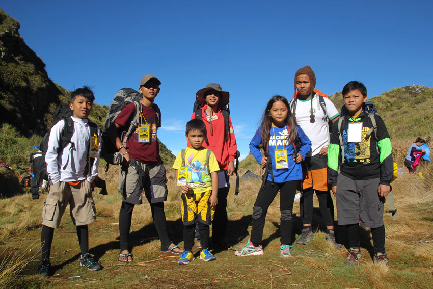 Mountains as playgrounds for young mountaineers