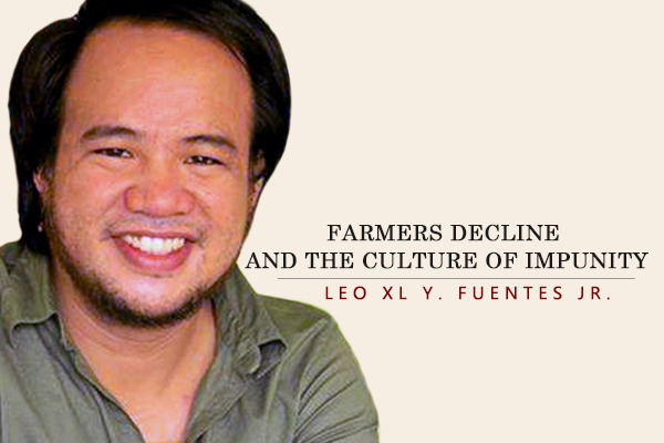 FARMERS DECLINE AND THE CULTURE OF IMPUNITY