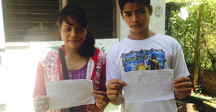 Ata-Manobo students: We only have pens and papers for our dreams