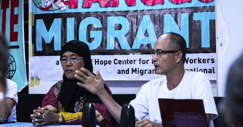 Migrant group launches program to aid OFWs