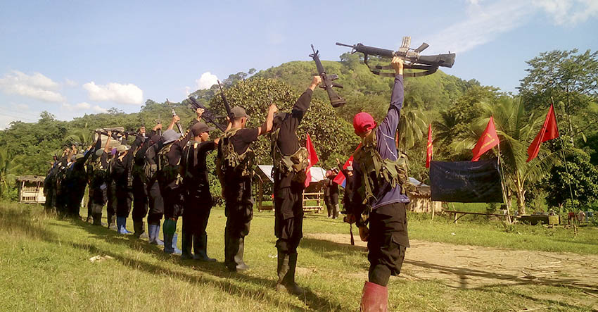 NPA fires 21-gun tribute to Ka Parago