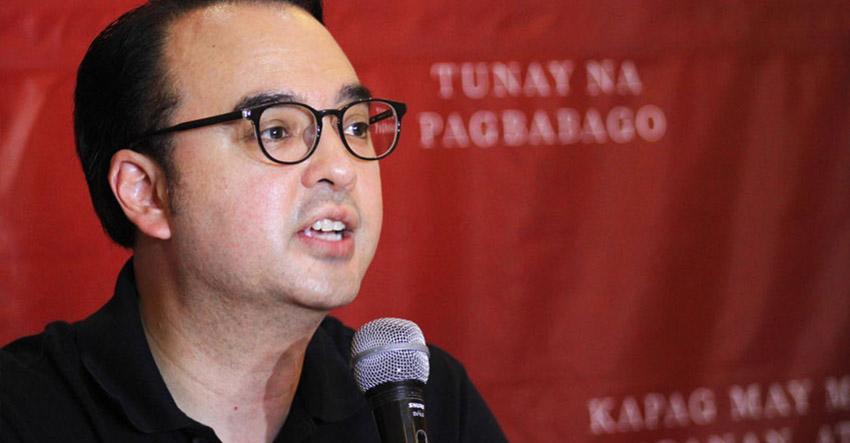 Cayetano announces VP bid in Davao City