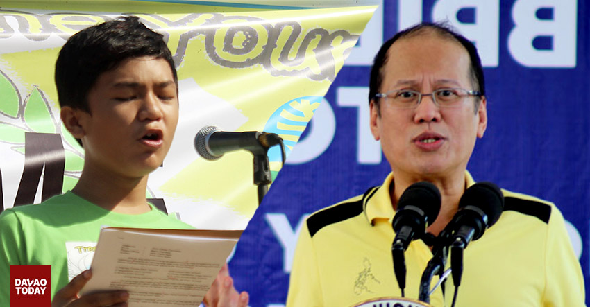 PNoy gives wrong answer to kid, says envi group