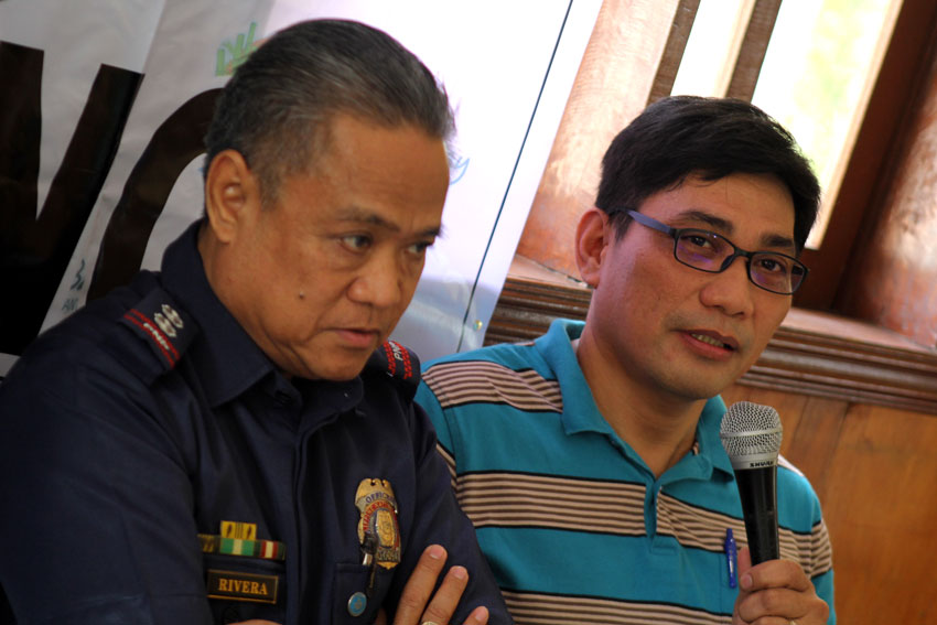 HANDS TIED. Atty. Marlon Casquejo, Comelec Davao assistant regional director says they cannot act on the candidates who are pre-campaigning due to the existing Supreme Court ruling which says that a candidate who is running for the elections can only be considered a candidate at the start of the campaign period. (Ace R. Morandante/davaotoday.com)