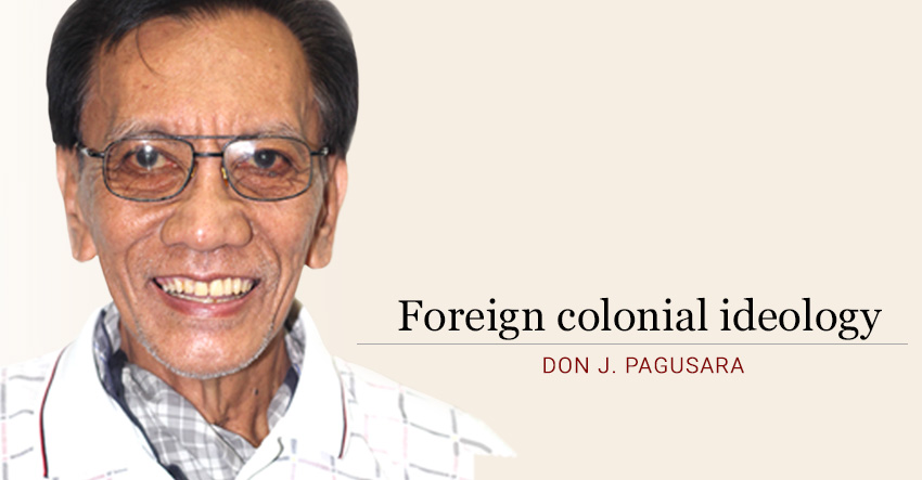 Foreign colonial ideology