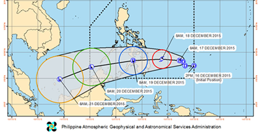 Davao City on Blue Alert for Typhoon Onyok