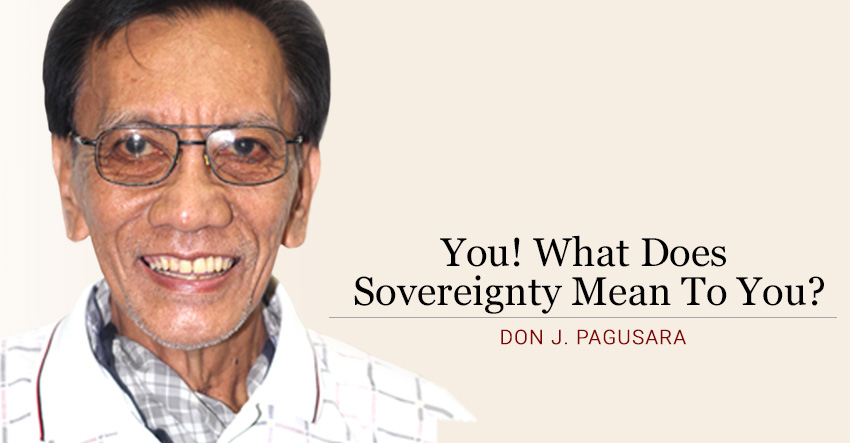 You! What Does Sovereignty Mean To You?