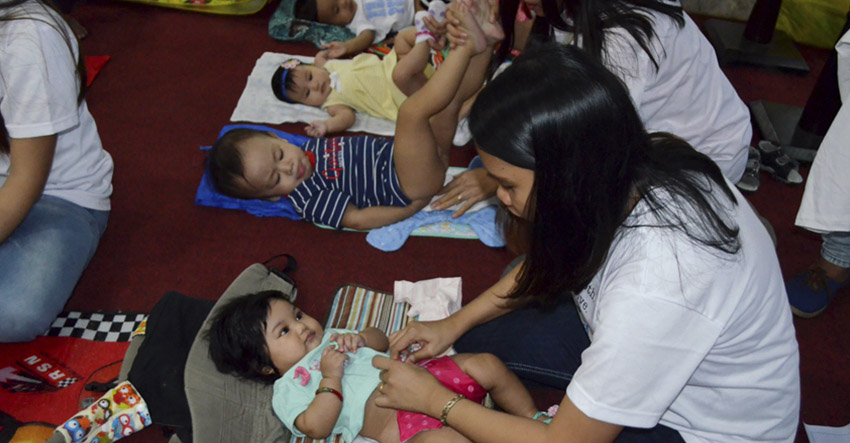 Davao joins global cloth diaper change