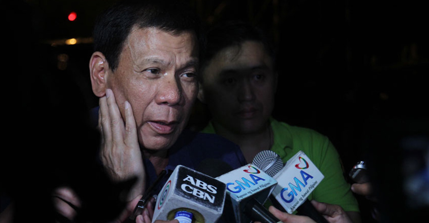 LDP throws support for Duterte