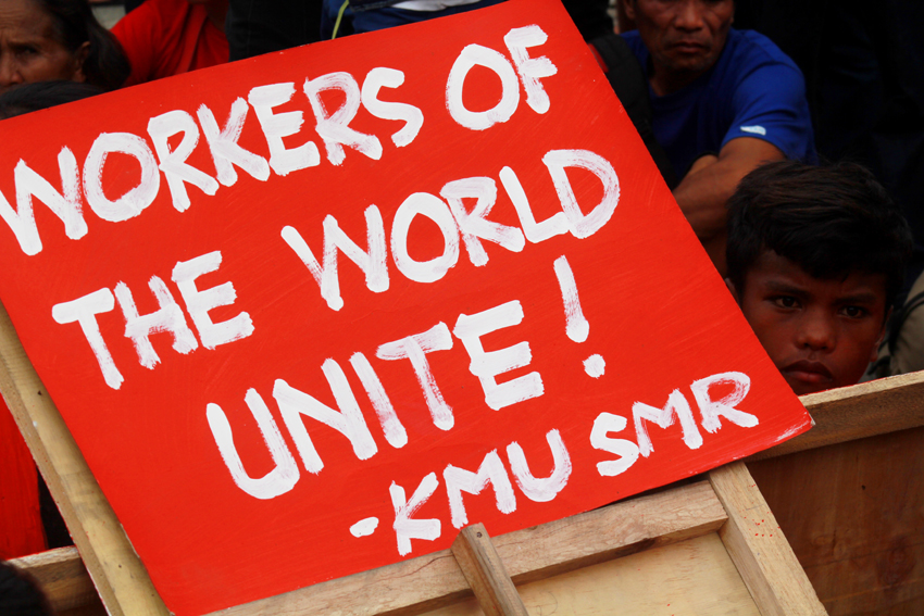 A quote popularized by German philosopher, Karl Marx, lives today as one of the rallying calls of the workers.