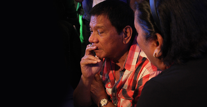 Group says Duterte to make history with stand on mining